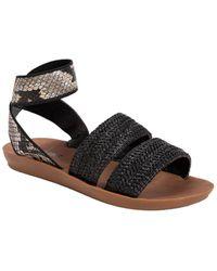 Muk Luks About Me Sandal - Black