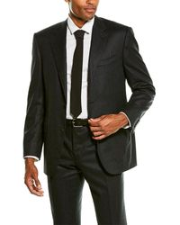 Canali 2pc Wool Suit - Grey