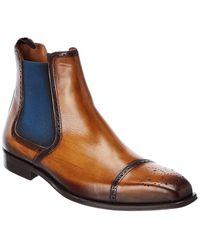 Mezlan Leather Boot - Brown
