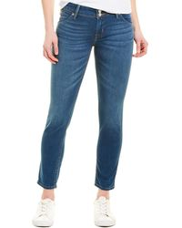 Hudson Jeans Collin Temple City Skinny Crop - Blue