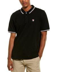 Fila Matcho 3 Polo Shirt - Black