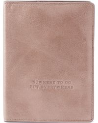 Hobo - Quest Leather Passport Holder - Lyst