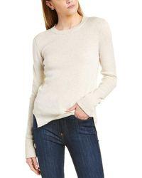 INHABIT Cuffed Sweater - Gray