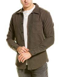 Michael Stars Woven Shirt - Gray