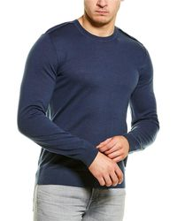 7 For All Mankind 7 For All Mankind Wool Crewneck Jumper - Blue