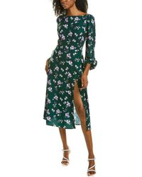 Alexia Admor 3/4-sleeve A-line Dress - Green