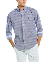 Brooks Brothers 1818 Regent Fit Original Polo Shirt - Blue