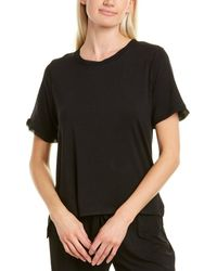 Flora Nikrooz Chiffon T-shirt - Black
