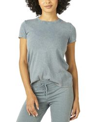 Beyond Yoga Don't Distress T-shirt - Blue