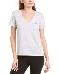 Lolë Daily V-neck T-shirt - Grey
