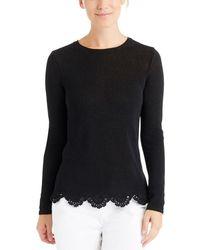 J.McLaughlin Knit Top - Black