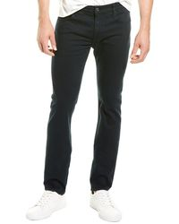 7 For All Mankind 7 For All Mankind Paxtyn Squiggle Navy Skinny Jean - Blue