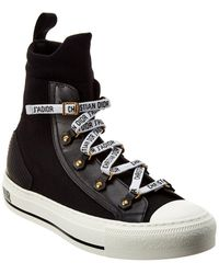 Dior Walk'n' High-top Trainer - Black