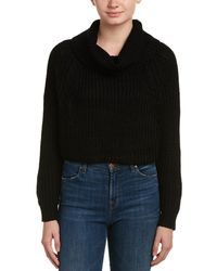 Jack Meets Kate Cropped Sweater - Black
