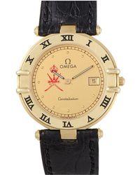 Omega Omega Constellation Date Quartz Men's 31mm Watch - Metallic