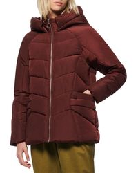 Marc New York Yorkshire Sporty Puffer - Red