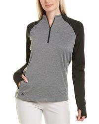 adidas Originals Heather 1/2-zip Pullover - Grey
