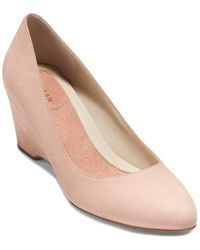Cole Haan The Go-to 60 Leather Wedge - Pink