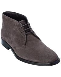 Tod's Tod?s Suede Boot - Grey