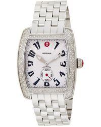 Michele Urban Diamond Watch - Metallic