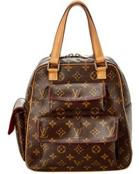 Louis Vuitton Monogram Canvas Excentri Cite - Brown