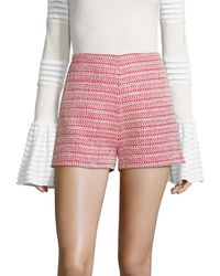 Alexis - Nelly Tweed Short - Lyst
