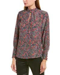 Rebecca Taylor Hudson Paisley Silk Top - Multicolour
