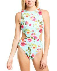 Nanette Lepore One-piece Swimsuit - Blue