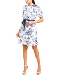 Donna Morgan A-line Dress - White