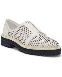 Vince Camuto Mritsa Leather Loafer - White