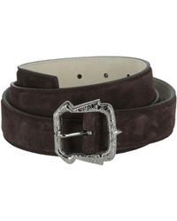 Brioni - Leather Suede Belt - Lyst