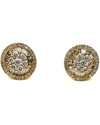 Arthur Marder Fine Jewelry 18k 0.50 Ct. Tw. Diamond Baguette Earrings - Metallic
