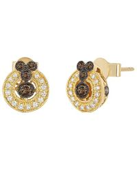 Le Vian ? Chocolatier? 14k Honey Gold? 31.00 Ct. Tw. Diamond Earrings - Metallic