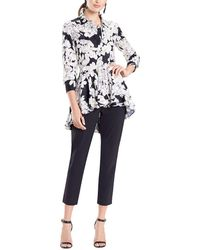 Natori Silk-blend Top - Black