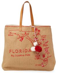 Star Mela Florida Vacation Tote - Multicolour