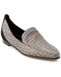 "Derek Lam ""raena"" Croc-embossed Leather Loafer - Multicolour"