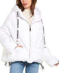 Khrisjoy Hooded Puffer Jacket - White