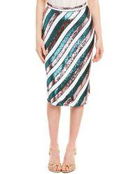 Diane von Furstenberg Sequinned Skirt Multicolor