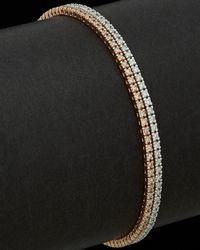 Meira T 14k Two-tone 2.29 Ct. Tw. Diamond Tennis Bracelet - Black
