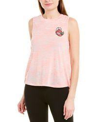 Betsey Johnson Burnout Tank - Pink