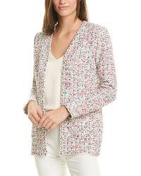 St. John Wool-blend Jacket - White