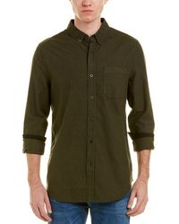 AG Jeans - Caleb Wool-blend Button Down Top - Lyst