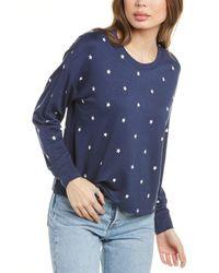 Splendid Hearts Pullover - Blue