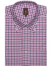 Robert Talbott Estate Dress Classic Fit Shirt - Purple