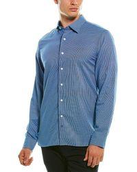 Hickey Freeman Christopher Shirt - Blue