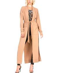 Dance & Marvel Long Robe Jacket - Multicolour