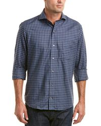 Ledbury - The Mcleod Check Classic Fit Woven Shirt - Lyst