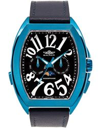 Balmer Men's Leather Watch - Blue