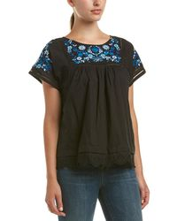 Rebecca Taylor - Embroidered Top - Lyst