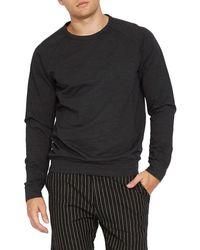 Civil Society Surrey Long Sleeve T-shirt - Black